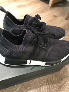 da35ab76b1ac Adidas NMD R1 Winter Wool Primeknit PK Black Size 11. BB0679 Yeezy ...