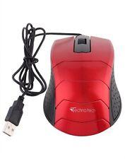 Technotech Usb Optical Mouse TT-A09 (Red)