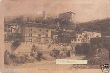 C005008    ROVERETO   CASTELLO  E  TORRENTE  LENAO ANIMATA    VG  1924