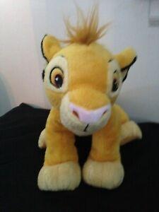 Original Disney Branded Lion King Young Simba Plush Stuffed Animal Just Play Mfg