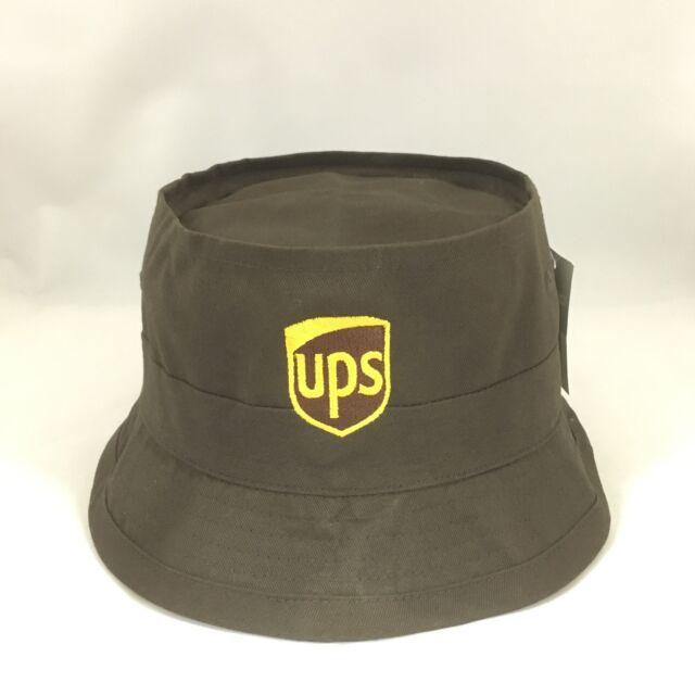 5ddedca0 UPS Bucket Hat Decky Fisherman's Cap United Parcel Service Brown L/XL