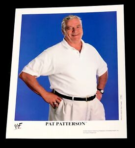 WWE-PAT-PATTERSON-P-666-OFFICIAL-LICENSED-AUTHENTIC-8X10-PROMO-PHOTO-VERY-RARE