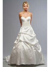 ORG $999 Forever Yours White 12 Formal Wedding Dress Bridal Gown