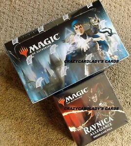 MAGIC WAR OF THE SPARK BOOSTER 2 BOX LOT /& PRERELEASE KIT SAME DAY PRIORITY SHIP