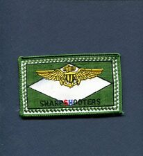 VMFAT-101 SHARPSHOOTERS AVIATOR Name Tag USMC MARINE CORPS Color Squadron Patch