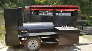 Sink-BBQ-Smoker-Grill-Trailer-Catering-Business-Mobile-Kitchen-Food-Cart-Truck