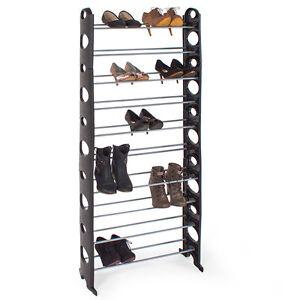schuhablage schuhst nder schuhschrank schuhregal 10 ebenen. Black Bedroom Furniture Sets. Home Design Ideas