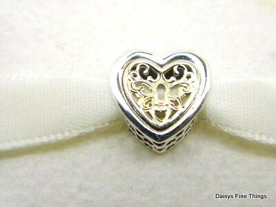 Heart Locked Cz  .925 Sterling Silver Pendant