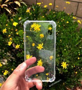 Clear-Thin-TPU-Case-For-iPhone-X-XS-Transparent-Bumper-Gel-iPhone