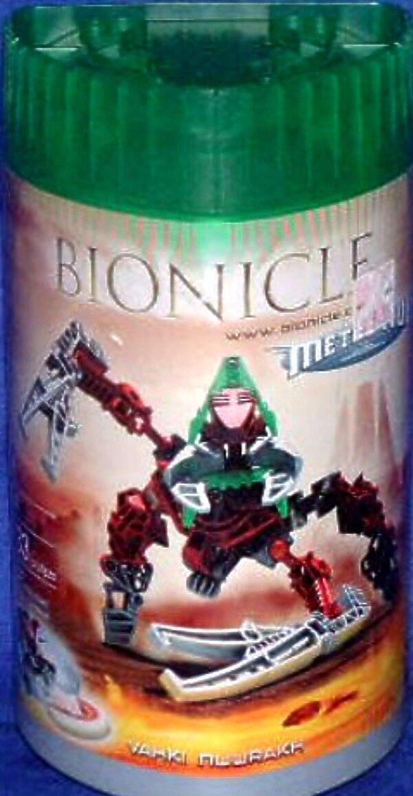 Lego Bionicles Bionicles Bionicles VAHKI NUURAKH 8614 Metru Nui New Factory Sealed 2004 97d18d