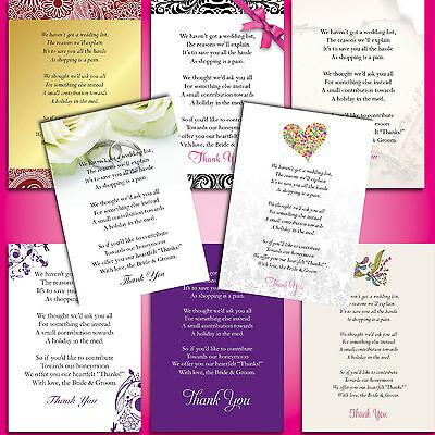 Imparziale Confezione Da 10 X A7 Carte Rsvp, Info, Poesia Card Per Qualsiasi Design & Qualsiasi Formulazione-