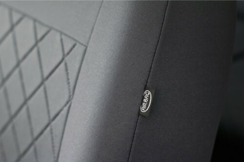 FABRIC TAILORED SEAT COVERS MADE TO MEASURE FOR FORD FIESTA Mk8 5 DOOR 2017 ON