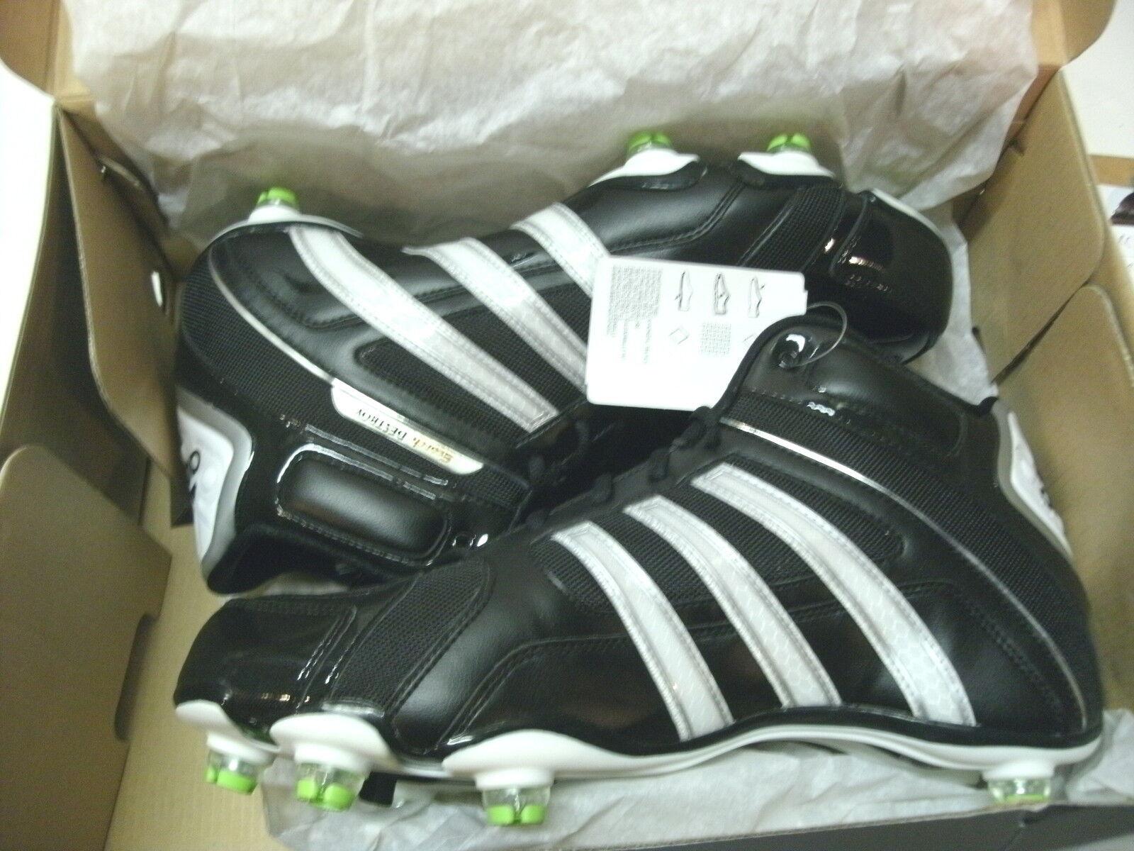 Adidas Scorch destruir D Mid Hombre football soccer 1 lacrosse cleats, tamaño 12 1 soccer / 2 Venta de liquidacion de temporada 4e7089