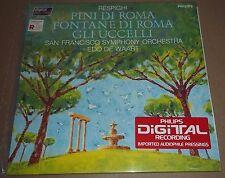 Edo de Waart RESPIGHI Pini di Roma, Fontane di Roma - Philips 6514 202 MINT