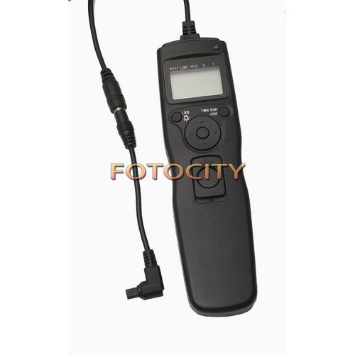 Timer Remote Shutter Removable Cord Cable F Canon EOS 5D Mark II III 1DS 7D 50D