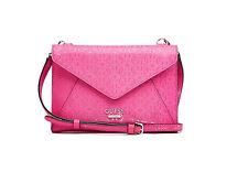 Guess® Bianco Nero Envelope Cross-Body, Shoulder pink handbag, MSRP $65
