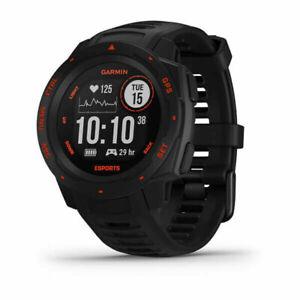 GARMIN Montre GPS Instinct ? Esports Edition. Noire lave