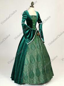 Lady Guinevere Medieval Renaissance Queen Arwen Fairytale Theatrical Dress 129
