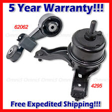 A636 For 2010-11 Toyota Camry 2.5L Exept Hybrid, Front Rt,Torque Strut Mount Set