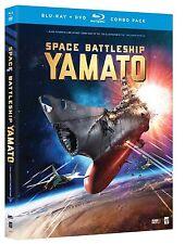 Space Battleship Yamato (Blu-ray/DVD, 2014, 2-Disc Set) BRAND NEW with Slip