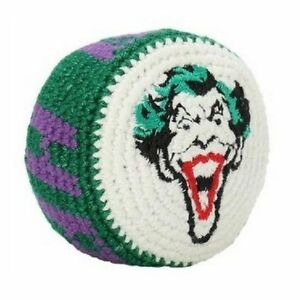 Lot of 12 Pieces The Joker Batman Dc Comics Hacky Sack Knit Bag