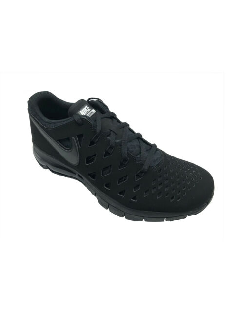 5094c72a4e Nike Air Trainer 180 Training Shoes Triple Black Mens 10.5 916460 ...