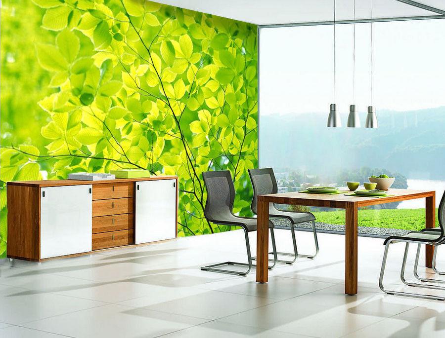 3D Grüne Blätter Natürlich 887 Tapete Tapete Tapete Wandgemälde Tapeten Bild Familie DE Kyra | Angemessene Lieferung und pünktliche Lieferung  | Vorzugspreis  |  fe83b4