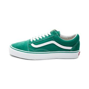 f290b31fbede New Vans Old Skool Skate Shoe Ultramarine Green Suede Canvas Womens ...