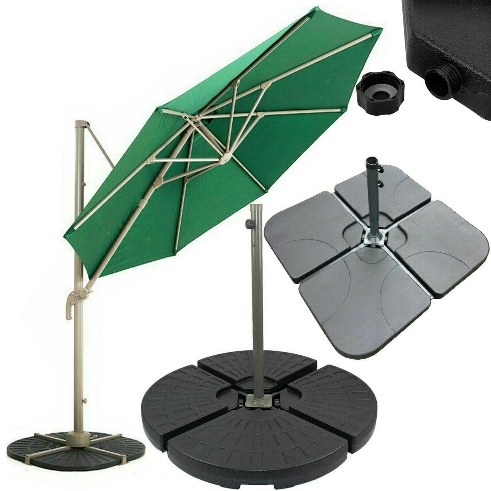 Base De Sombrilla pesado soporte de pesos para colgar ménsula paraguas Sombrilla Plátano
