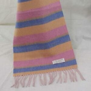 Sale New Vintage Mans Cashmere Wool Warm Striped long Scarves Scarf GIFT 20313