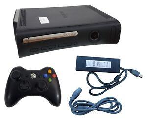 Details about Microsoft Xbox 360 Elite Launch Edition 120GB Black Console  NTSC + Controller