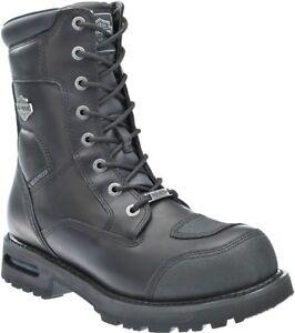 Harley-Davidson-Men-039-s-Richfield-Waterproof-Motorcycle-Leather-Boots-D96121