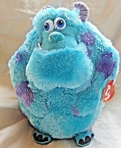 0d55656df15 Ty Beanie Ballz Monsters inc Sully Plush Animal Disney Pixar with ...