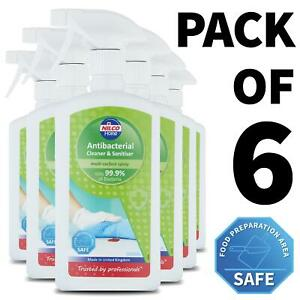6-x-Nilco-Antibacterial-Cleaner-and-Sanitiser-500ml-Multi-Surface-Spray