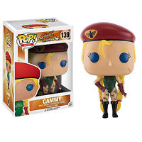 Funko Street Fighter Pop Cammy Vinyl Figure Toys Collectibles Video Game