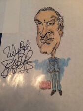 BOB HOPE Signed / Autograph Picture / Drawing 1970's