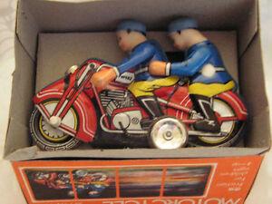 Mf 162 Motor Cycle Moto Jouet Tole 60/70 Tin Toy