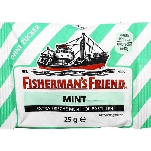 FISHERMANS FRIEND mint ohne Zucker Pastillen 25 g