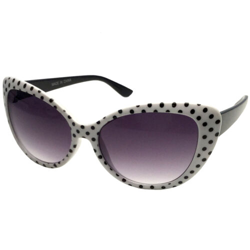 Kids Childrens Girls Sunglasses Cat Eye Polka Dot 50s//60s Retro Vintage Style