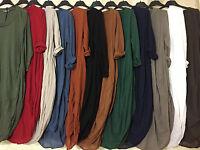 NEW LADIES Italian Lagenlook Quirky Long CASUAL Cocoon Tunic DRESS Full plus UK