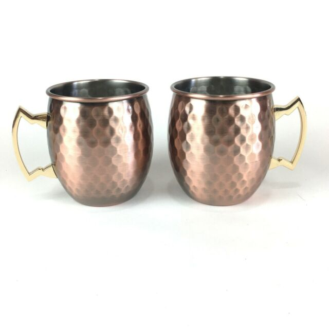 1.3 oz Small Wine Cup Bronze Shot Glass Copper Mugs Cocktail Cup