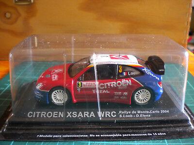 Calcomanías 1//24 Ref 1023 Citroen Xsara WRC Sebastien Loeb Rallye Carlo 2006