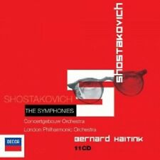 BERNARD HAITINK/CGO/LPO - SHOSTAKOVICH-SÄMTLICHE SINFONIEN 1-15 (GA) 11 CD NEU