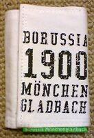 Borussia Mönchengladbach - Canvas Geldbörse Geldbeutel Brieftasche Weiß