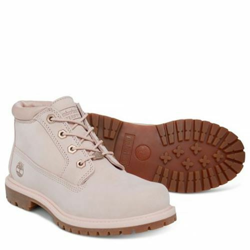 Timberland Kenniston Nellie Lace Up Pink Leather Womens
