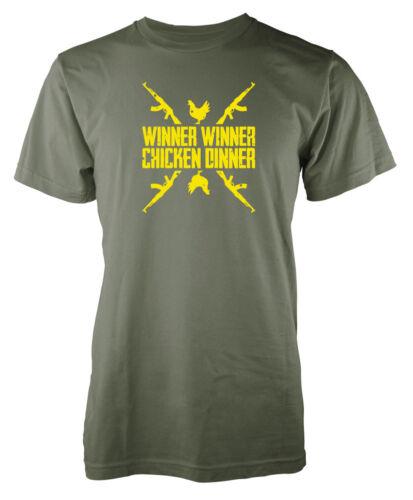 Player Unknown Battleground winner winner chicken dinner kids pubg t-shirt
