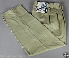 New ARIZONA JEANS 30x32 Pleated Front Khakis Chinos Pants 30 x 32 NWT