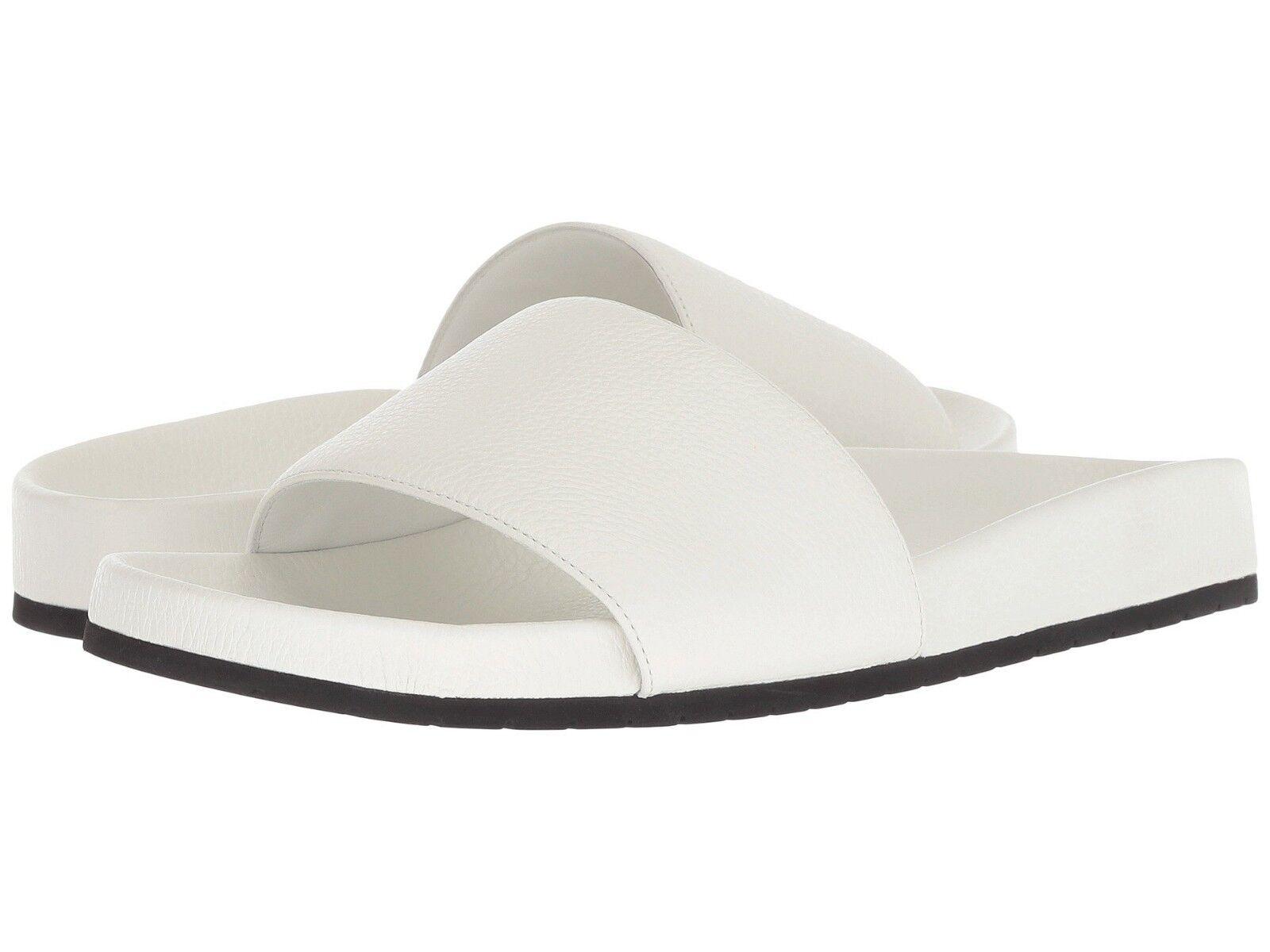 195 Nuevo Para mujeres Vince Gavin blancoo Zapatos Sandalias diapositivas Genuino 6 36  buscando agente de ventas