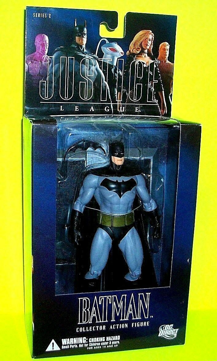 BATMAN Justice League of America ALEX ROSS Action Figure DC DIRECT Comic Toy JLA