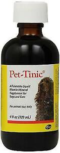 Pfizer Pet-tinic Liquid Supplement for Dogs and Cats 4oz